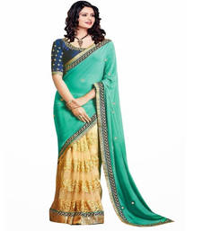 Buy Green party-wear-saree online