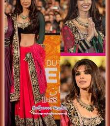 Buy Priyanka chopra bollywood lehanga priyanka-chopra-saree online