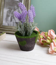 Buy Lovely & Pretty Purple 18.5 CM Artificial Floral Plant eid-gift online