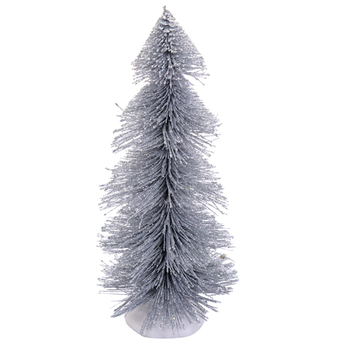 Graceful Silver Decorative Christmas Tree Showpiece