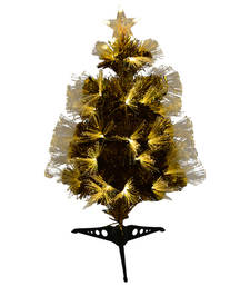 Buy Glowing Golden Decorative Christmas Tree christmas-decoration online