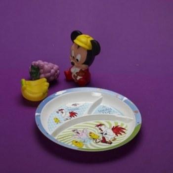 Original Thai Melamine Round Baby Section Plate_29