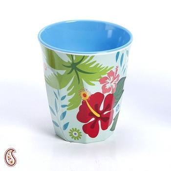 Floral Printed Melamine Tumbler