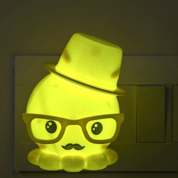 Tweety Style Yellow Led Night Lamp