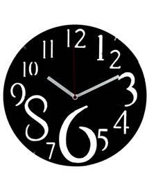 Buy Dashing Black Huge Numeral Wall Clock wall-clock online