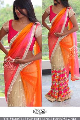 Broight color comfort saree