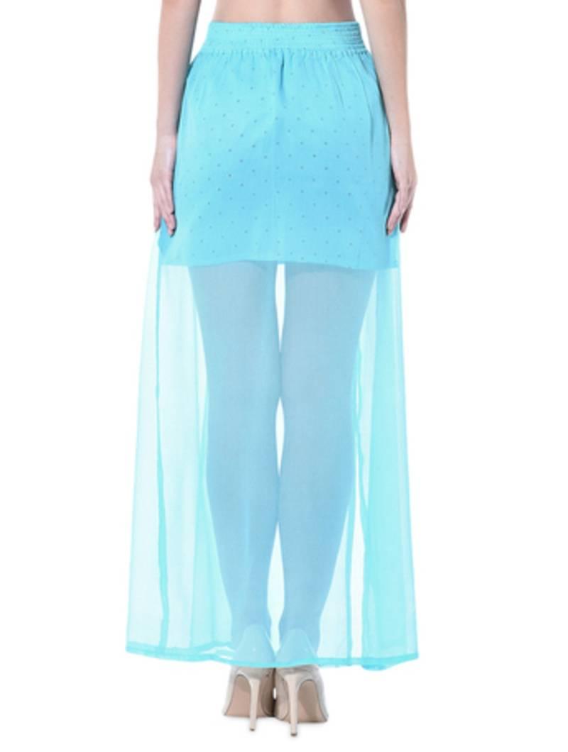 buy sky blue ggt skirts online. Black Bedroom Furniture Sets. Home Design Ideas