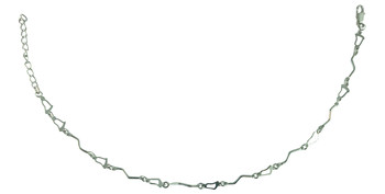 Rhodium Plated Anklet for Women