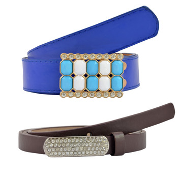 """"""" Blue And Brown Color"""" Belt Combo For Womens"""