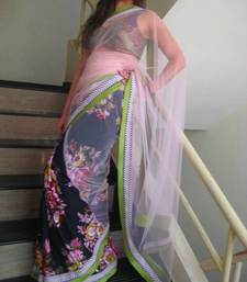 Buy ColourBlast Stunner2 viscose-saree online