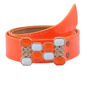 """ Orange Color"" Belt Combo For Womens"