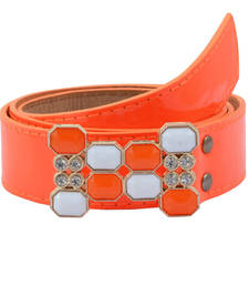 "Buy "" Orange Color"" Belt Combo For Womens gifts-for-sister online"