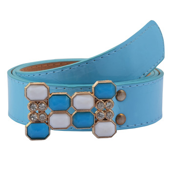 """"""" Blue Color"""" Belt Combo For Womens"""