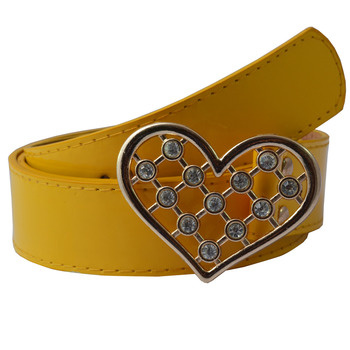 """"""" Yellow Color"""" Belt Combo For Womens"""