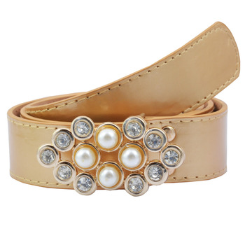 """ Beige Color"" Belt Combo For Womens"