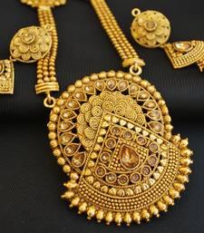 Exquisite long haram necklace set