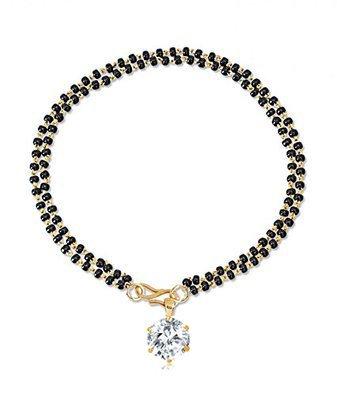 Black cubic zirconia bangles-and-bracelets