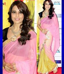 Buy Bollywood replica bipasha basu printed half half saree bipasha-basu-saree online