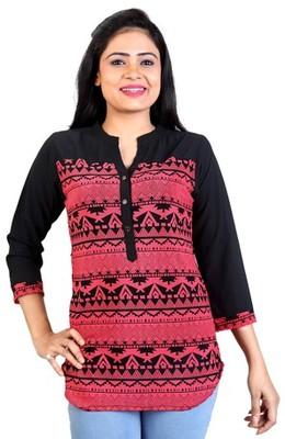 Pink Rayon Fabric tops