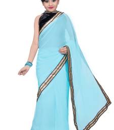 Buy kids ready to saree and blouse kids-saree online