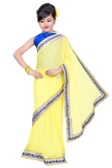 cb803dd64f3e1 Kids Sarees Online Shopping | Readymade Kids Saree with blouse