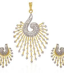 Buy American Diamond Pendant Sets eid-jewellery online