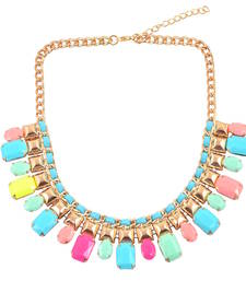 "Buy "" The Trend Of Neon Colors"" Statement Necklace collar-necklace online"