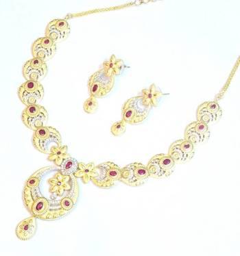 Royal elegant bridal wear set 1089