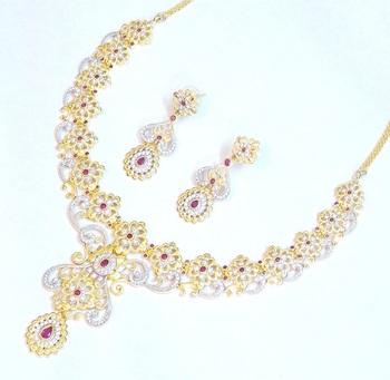 Royal elegant bridal wear set 1090
