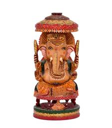 Buy Umbrella Good Luck Ganesh Statue For Home Decor Gifts Online