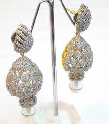 Buy  Queen's royal bridal Earring no 1024 danglers-drop online
