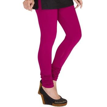 Fancy Pink Churidar Komal Cotton Leggings 205