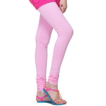 Baby Pink Churidaar Komal Cotton Leggings 208
