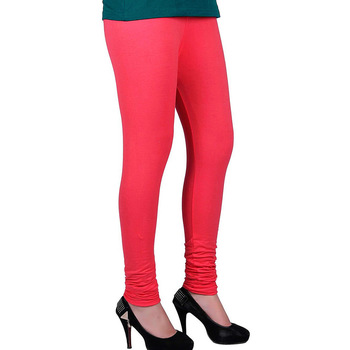 Fancy Pink Churidar Komal Cotton Leggings 209