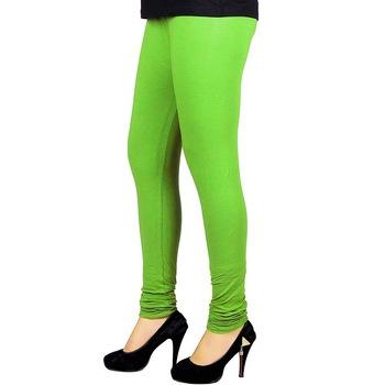 Green Churidaar Komal Cotton Leggings 224