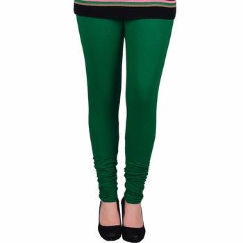 Green Churidaar Komal Cotton Leggings 225