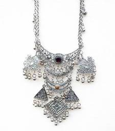 Silver Banjara Necklace