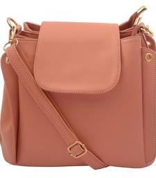 Buy Pink PU Lara Sling Bag sling-bag online