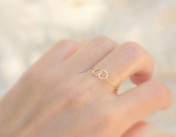 Double Circle Chain Ring