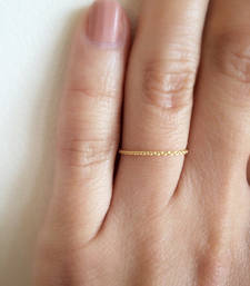 Simple Chain Golden Ring