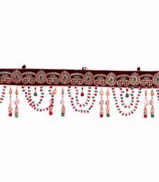 Buy Decorative Moti Toran Bandarwal for Home D  cor door-hanging online