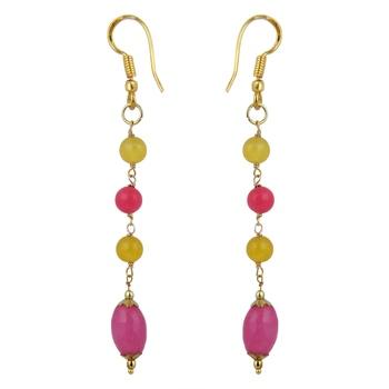 Charming Jade Beads Earrings For Women