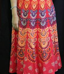 Buy Desi Print Wrap Around Midi Skirt maxi-dress online