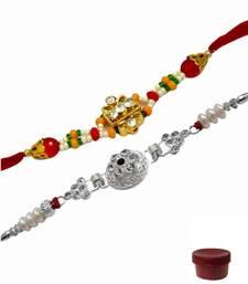 Buy Of two stone and ad rakhis express-rakhi online