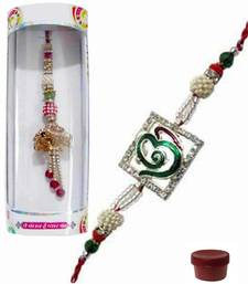Buy Delightful of ad and auspicious rakhi lumba rakhi-international online