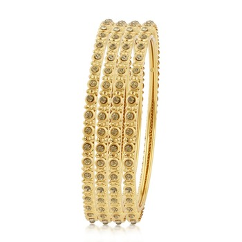 fc0785b97f9 Astonish Gold Plated Bangles For Women Set - Sukkhi Online Private ...