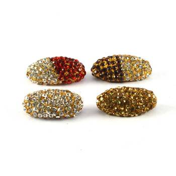 Treditional stone sari pin