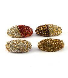 Traditional Stone Sari Pin