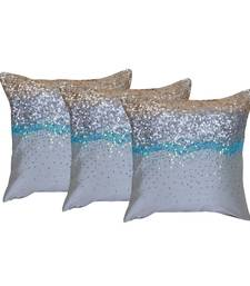 Buy Set of 3 Cotton Cushion Cover pillow-cover online