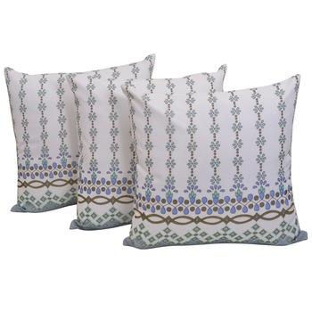Set Of 3 Chiffon Cushion Covers